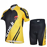 CHEJI Children's Breathable Quick Dry Cycling Short Sleeves Sets