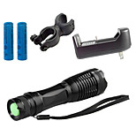 LS1783 ZK10 CREE XM-L T6 LED 5 -Mode 4000 Lumens Focus Zoomable Adjustable LED Flashlight Bike Bicycle Head Light Kit