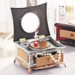 Dresser For Elise  Music Box Plastic Dresser Red / Silver / Gold