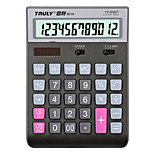 Solar Power and Multifunction Calculator for Office 18*14.5cm