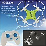 Others M9912 dar 6 as 4-kanaals 2.4G RC Quadcopter 360 graden flip tijdens vlucht