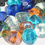 la pietra di fondo / rocce ornamento decorazione per pesci da acquario multicolore