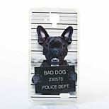 Dog Pattern TPU+IMD Soft Case for Lenovo A536