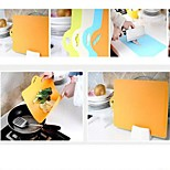 Flexible Plastic Chopping Cutting Slicing Mats Symbol Coded Boards Bendable