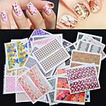 Cartoon / Lovely / Punk / Wedding Finger 3D Nail Stickers Acrylic 50 10*7.7*3