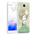 XIMALONG  Fresh girl   phone shell painted reliefs apply for MEI ZU M3 NOTE