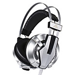 Corlors Changed USB Connector Wired Headphones (Headband) for Computer(No vibrations)