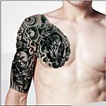 trucco corpo spalla sinistra autoadesivi provvisori del tatuaggio (2 pezzi)