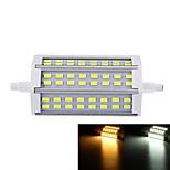Focos LED Regulable SENCART Luces Empotradas R7S 12W 48 SMD 5730 1000-1200 lm Blanco Cálido / Blanco Fresco AC 85-265 V 1 pieza