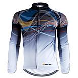 tops(Camuflagem) - deGolfe / Esportes Relaxantes / Ciclismo / Triathlon / Corrida-Homens-Impermeável / Á Prova-de-Chuva / Tiras Refletoras