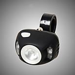 Linternas LED / Luces para bicicleta LED 3 Modo 350lumens Lumens Enfoque Ajustable / A Prueba de Agua / Clip / Emergencia / Tamaño Pequeño