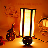 Creative Wood The Romantic Tricycle Restoring Ancient Ways Container Decoration Desk Lamp Bedroom Lamp Gift for Kid