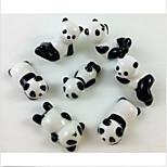 4 pcs Chopsticks Holder Ceramic Porcelain Cute Panada