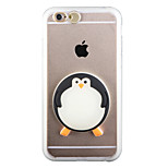 Glow in the Dark Big penguin PC Back Case with Strap and Stand for iphone6/6s