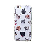 Cat and Dog Pattern TPU Material Phone Case for iPhone 6 Plus/6S Plus
