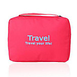 Fashion Portable Fabric Toiletry Bag/Travel Storage for Travel 22*16*8cm