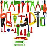 jugar a herramientas de mantenimiento del juguete de la casa los niños portátiles de simulación de caja de herramientas de los niños Kit