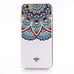 Mandala Pattern Soft TPU Back Cover Case for iPhone 6/6S