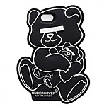 Silica Gel Undercover Bear Design for iPhone 6 Plus/6s Plus(Assorted Colors)