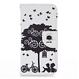 Bicycle Lover PU leather with Stand Case for iPhone5S/SE 4.0