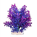 Purple Artificial Water Plants for Aquarium
