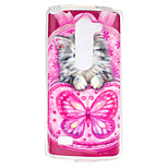 Cat Pattern TPU Phone Case for LG Leon /LG C40 H340N