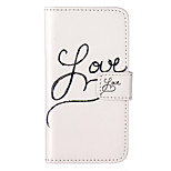 Love Pattern Embossed PU Leather Case for iPod Touch5