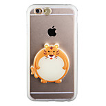Glow in the Dark Tiger PC Back Case with Strap and Stand for iphone6/6s