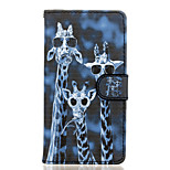 Crazy Deers Pattern PU Leather Full Body Case with Stand for Wiko Fever