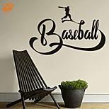 AYA™ DIY Wall Stickers Wall Decals, Baseball PVC Wall Stickers