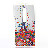 Balloon Tower Pattern TPU Soft Case for Motorola MOTOX Play