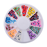 1wheel butterfly fimo nail decorations-Bijoux pour ongles-Doigt- enAdorable-6cm wheel