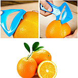 Multifunction Open Orange Plastic Device Orange peelers Random Color