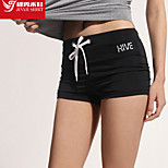 Women's Running Shorts Yoga / Pilates / Fitness / Cycling/Bike / Running Breathable / Quick Dry / Soft Black