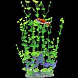 Simulation Harz Wasser Orchideen Ornament Dekoration für Aquarium