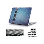 3 en 1 toro-golpeador caso duro del diseño de cuerpo completo + cubierta del teclado + enchufe del polvo para el aire del macbook 11