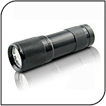 Linternas LED LED 1 Modo 100 Lumens Luz Ultravioleta / Detector de Falsificaciones Otros AAA De Uso Diario-Otros,NegroAleación de