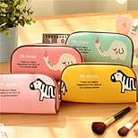 Cute Animal Park Stationery Bag Large Creative Simple Pencil Case
