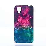 Starry Sky Pattern TPU+IMD Soft Case for Wiko Sunset