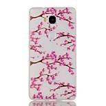 Luminous Night Plum BlossomPattern TPU Soft Case for Huawei Honor 5X