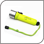 Underwater LED Diving Flashlights/Torch LED 3 Mode 1000 Lumens Waterproof /18650 Battery / Diving/Boating / Water Sports