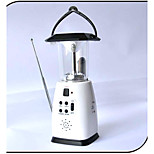 Led Solar Camping Light/Power by Hand Crank Solar Pannel AA Battery/Solar Lantern Flashlight With Radio/Traveling