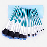 12Pcs  Fiber Drum Brush Set - Sapphire