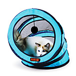 Funny Cat Toy Good Cat Tunnel 1Pc Green/Blue/Rose Red