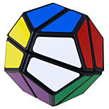 Lanlan Simple 2-Layers 12-Sided Magic Cube Black Edge