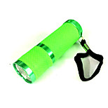 Green fluorescent white light flashlight (3XAAA)