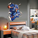 Basketball People Wall Stickers