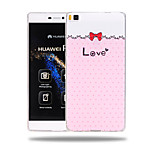Wave Point of Love Pattern Soft TPU Back Cover Case for Huawei Ascend P8