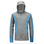 Outdoor Sports Casual Fishing Gear Sun-Protective Summer Fishing Shirt Long Sleeve Anti-mosquito Jacket More Color