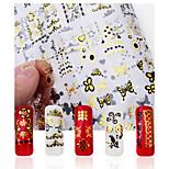 1-Autocollants 3D pour ongles / Bijoux pour ongles-Doigt- enBande dessinée / Adorable / Punk / Mariage-18*12*0.1
